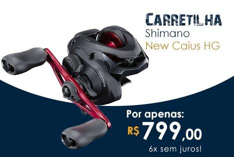 Carretilha SHIMANO Caius HG
