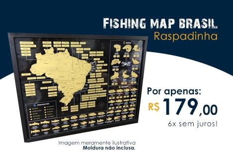 Fishing Map Brasil (Raspadinha) By Nakamura
