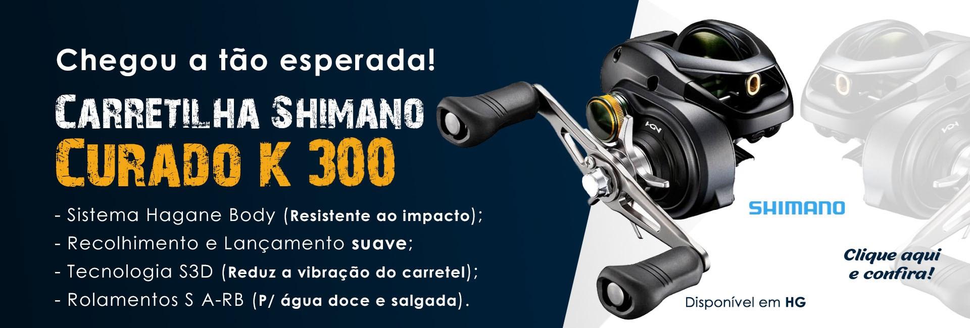 Carretilha SHIMANO Curado 300