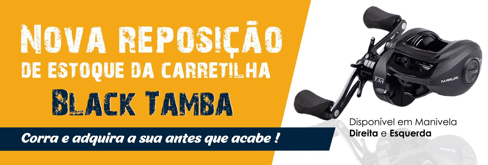 Reposição Carretilha Maruri Black Tamba
