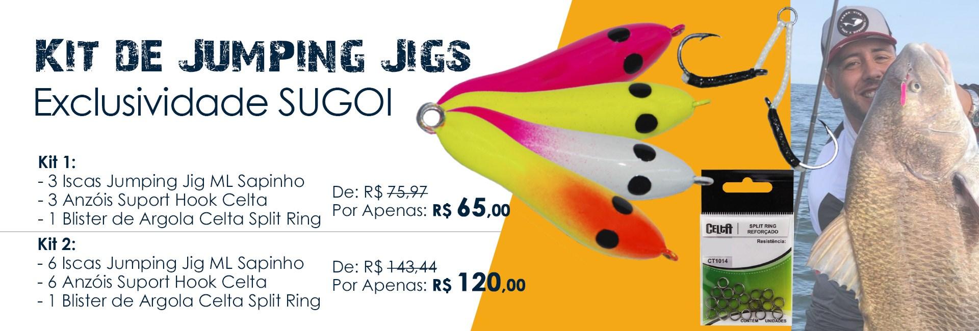 Combo de Jumping Jigs SUGOI