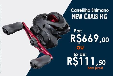 Carretilha Shimano New Caius HG