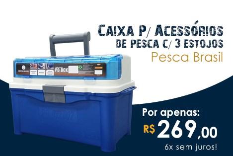 Caixa Pesca Brasil PB-BOX