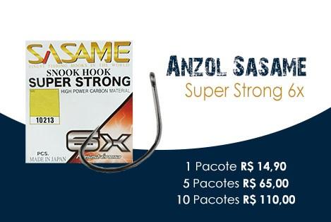 Anzol Sasame Snook Hook Super Strong 6X