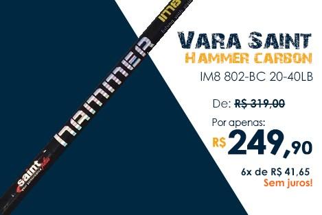 Vara SAINT Hammer 8'0'' 40 libras
