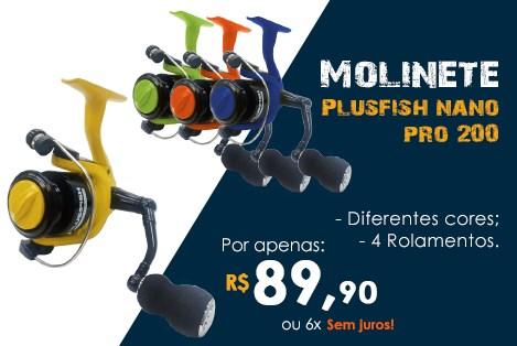 Molinete Plusfish Nano