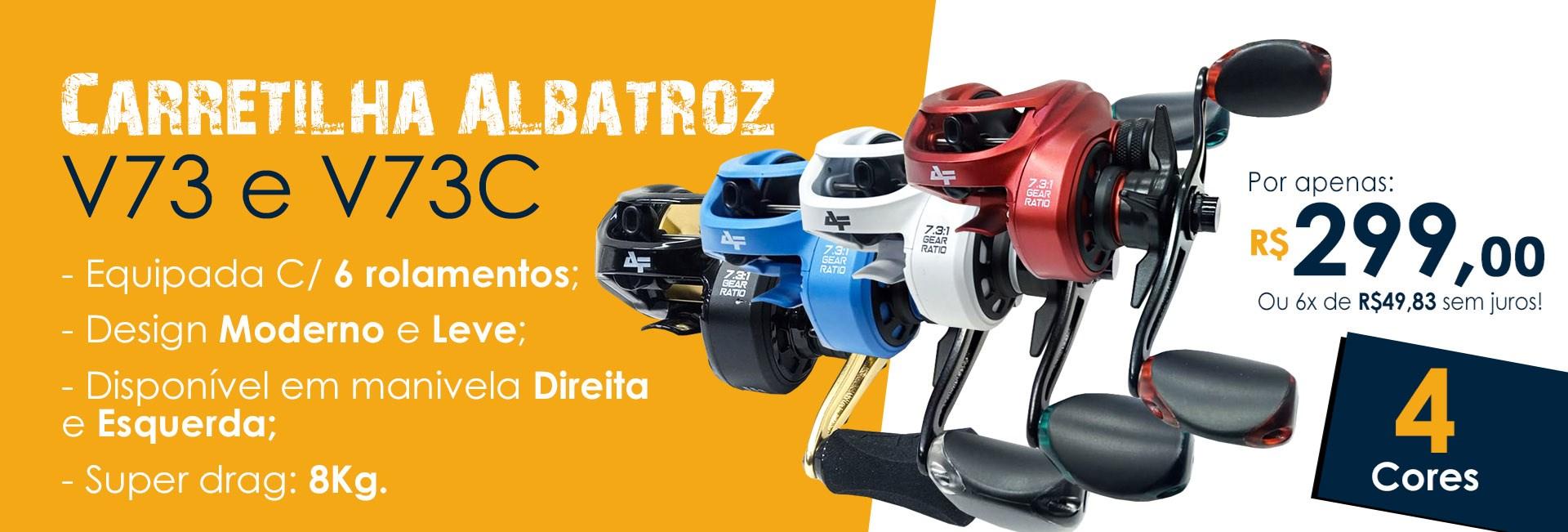 Carretilha Albatroz V73 Colors