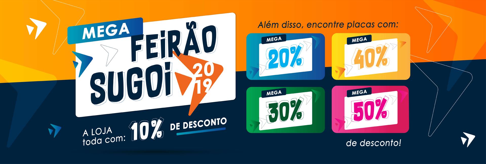 Mega Feirão SUGOI 2019 Última Chamada