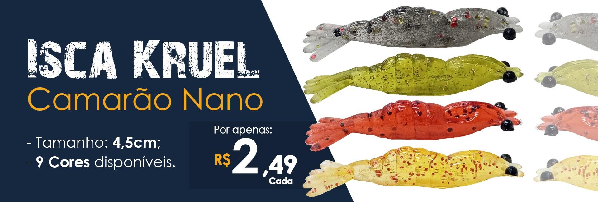 Isca Kruel Camarão Nano