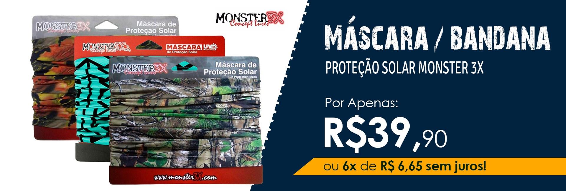 Máscara Monster 3X