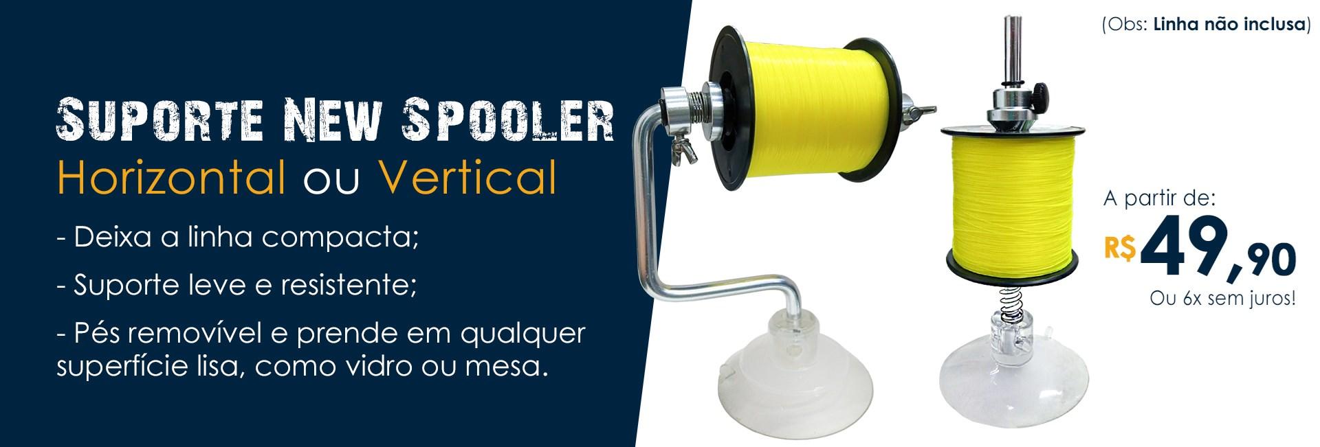 Suporte New Spooler para Carretéis