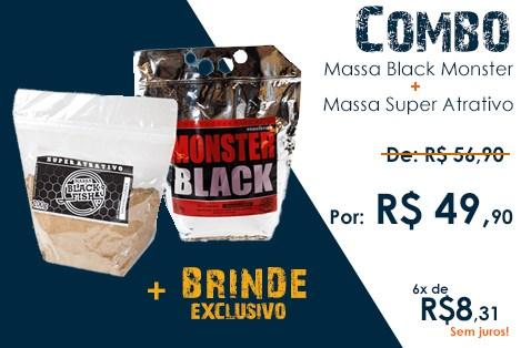 Combo Massa Black Fish + Brinde