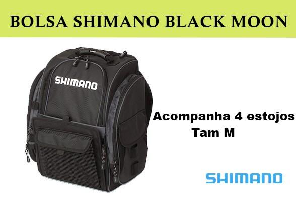 MOCHILA SHIMANO BLACK MOON BLMBP270BK MD