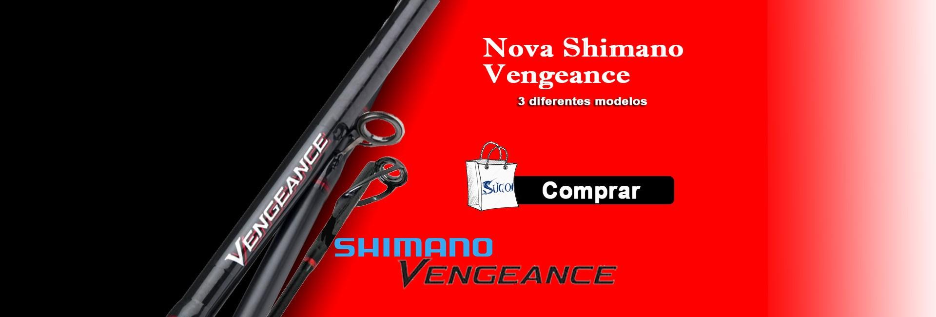 Vara shimano Vengeance