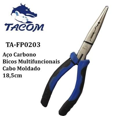 ALICATE  MULT FUNCAO CARBONO TA-FP0203