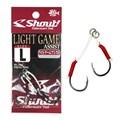 Anzol Assist Hook Shout Light Game - TAM L - c/2 un