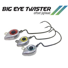 ANZOL BIG ONES - BIG EYE TWISTER 4/0 - 21GR