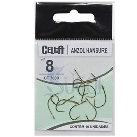 ANZOL CELTA HANSURE - 7000 -  Nº08