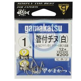 Anzol Gamakatsu Iseama Nickel - Nº1 - c/12 un