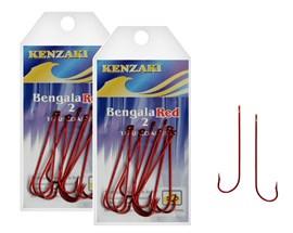 Anzol Kenzaki Bengala Red - Salsicha