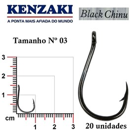 Anzol Kenzaki Black Chinu