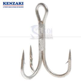 Anzol Kenzaki Garatéia Triple Hook Nº01 (10 unidades)
