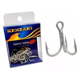 Anzol Kenzaki Garatéia Triple Hook Nº06 (10 unidades)