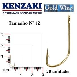 Anzol Kenzaki Gold Wing
