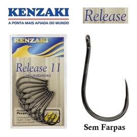 Anzol Kenzaki Release - (sem farpa)