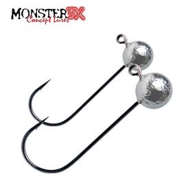 Anzol Monster 3X - X Hook 2/0 - 2 Unidades