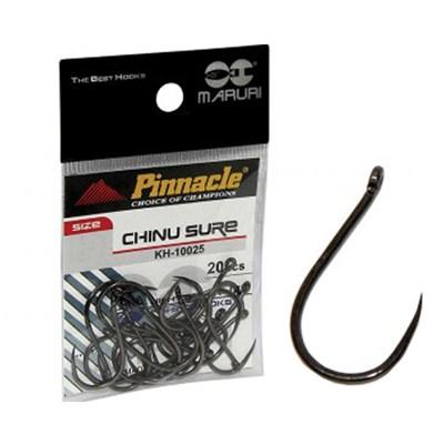 Anzol Pinnacle Chinu Sure Black 01 C/20