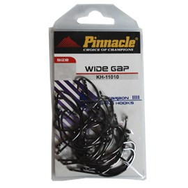 Anzol Pinnacle Wide Gap Black KH11010 1/0 C/25
