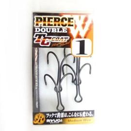 Anzol Ryugi Pierce Double Hook Black HPH061
