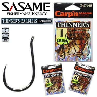Anzol Sasame Carping Thinners F-520 Balck Nickel