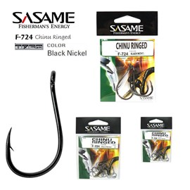 ANZOL SASAME CHINU RINGED F-724 - BLACK NICKEL