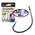 Anzol Sasame Snook Hook - Super Strong 6X - N-2/0 Black - c/6 un