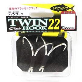Anzol Shout Double Twin Hook 22 222SS
