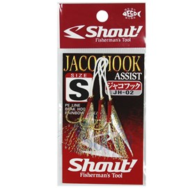 ANZOL SHOUT JACO HOOK JH-02 S