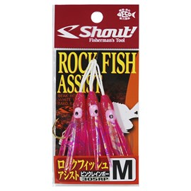 ANZOL SHOUT ROCK FISH ASSIST 305RP - M