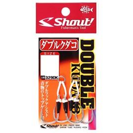 Anzol Shout Sup Hook Double Kudako 329-DK 4/0