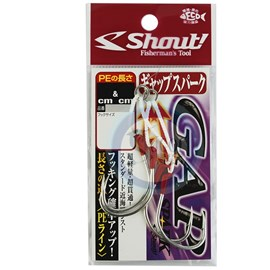 Anzol Shout Sup Hook Gab Spark 323-GS N°1/0 C/ 2Uni