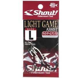 Anzol Shout Sup Hook Light Game Assist Hook L C/ 2Uni
