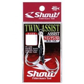 Anzol Shout Sup Hook Twin Assist 43-TA