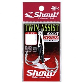 Anzol Shout Sup Hook Twin Assist 43-TA