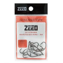Anzol Zeeo Maruseigo Ring BN C/ 10 Unidades