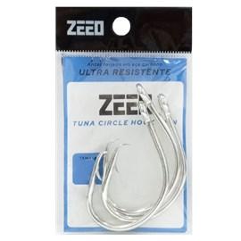 Anzol Zeeo Tuna Circle Hook Tin C/ 3 Unidades