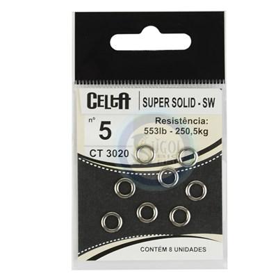 Argola Celta CT3020 - Super Solid - SW - Nº5 - 553lb(250,5k) - c/ 8un