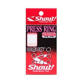 Argola Shout® Solid Press Ring (N°7)
