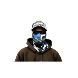 Bandana/Máscara Rock Fishing Camuflado azul