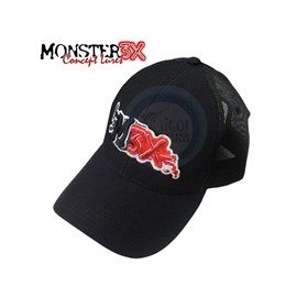 BONÉ MONSTER 3X FIT (Preto)